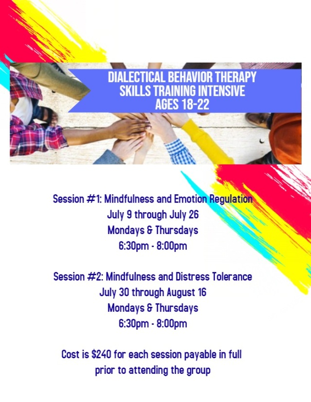 DBT Based Skills Training Intensive